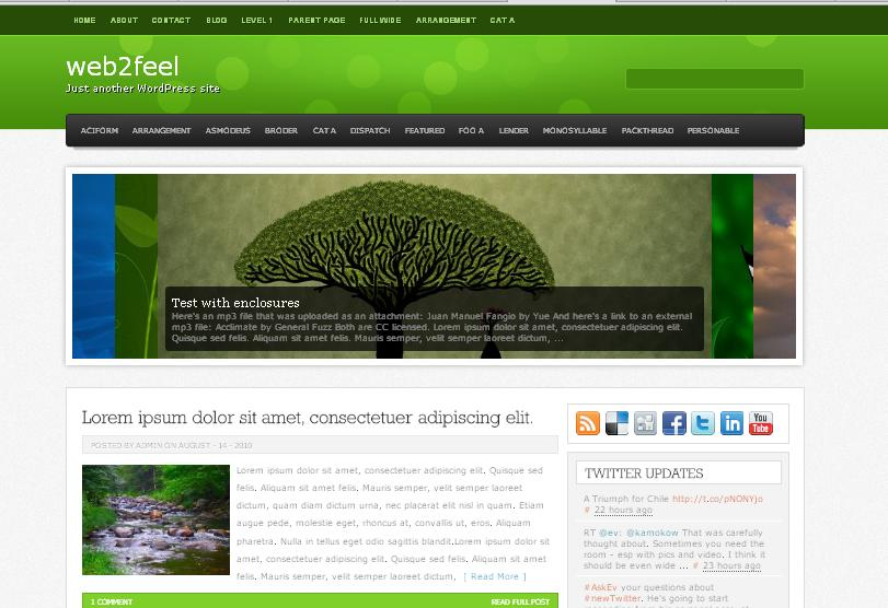 temas wordpress, wordpress themes, portugues