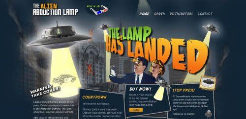 Abduction Lamp