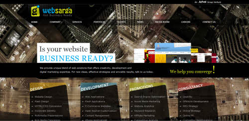 Web Sarga