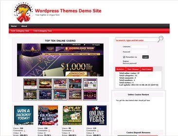 Online Casino Template 772