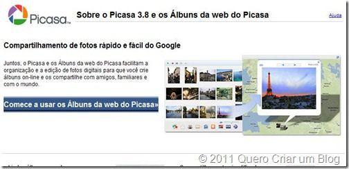 picasa, blogger, blogspot