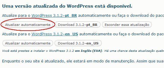 wordpress, atualização, segurança