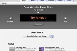 Página inicial do FlashVortex.com