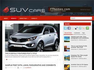 tema, template, carros, noticias, 2 colunas