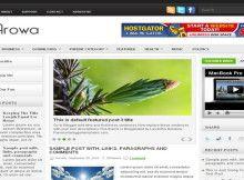 Template para Blog de Sustentabilidade