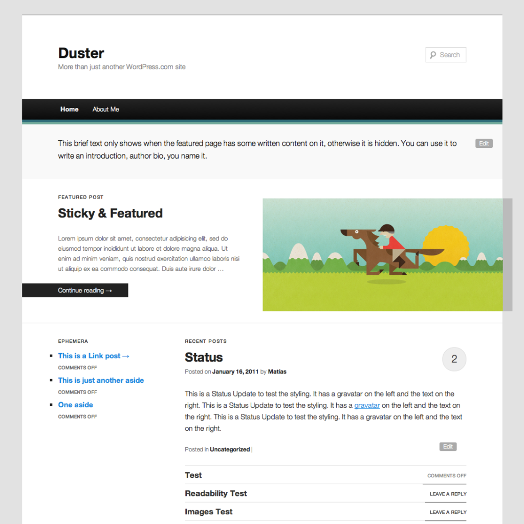 novo, wordpress, tema, padrão, twentyeleven, template, wp