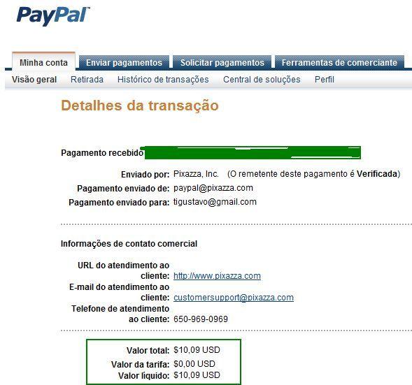 pixazza, programa de afiliados, google adsense, pagamento