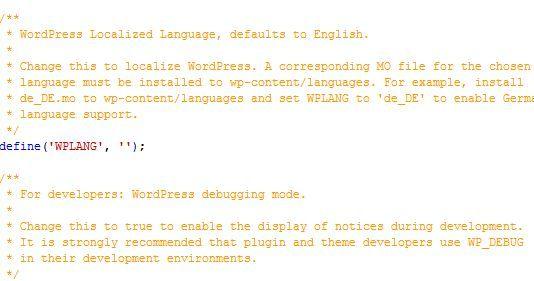 traduzir o wordpress