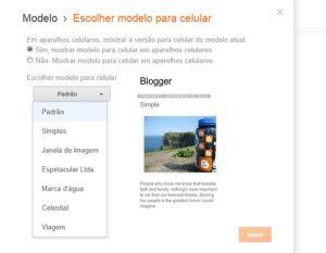Blogger mobile