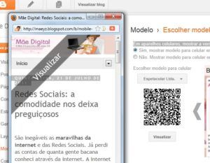 Templates Blogger  mobile