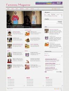 Fashion blog Templates