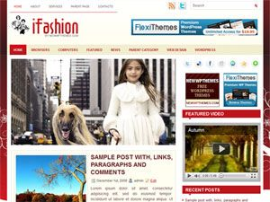 template, wordpress, wp, 2 colunas, fashion, moda