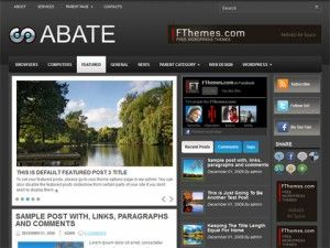 abate, template, wordpress, wp, temas, 2 colunas