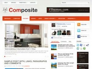 template, wordpress, tema, wp, composite, slides, 3 colunas