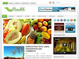 template, wordpress, tema, 2 colunas, health, saude, nutricao