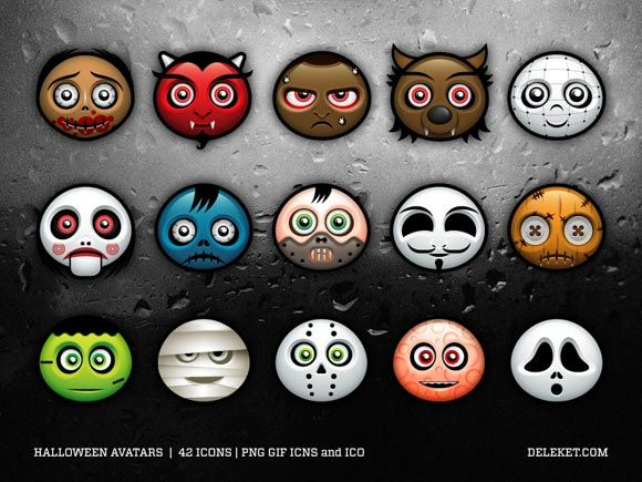 halloween, avatar, icones, icone, wordpress, site, download, blog, tema