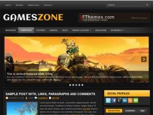template, tema, wordpress, wp, games, jogos, colunas
