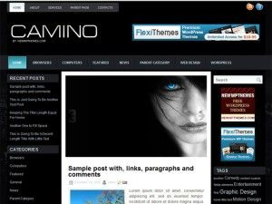 template, wordpress, wp, carmino, slide, 2 colunas