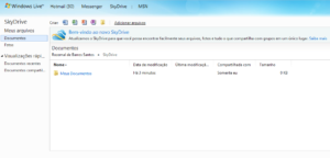SkyDrive Tutorial