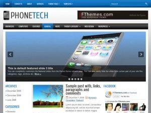 tema, template, wordpress, wp, celular, tecnologia, 3 colunas