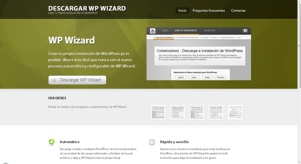 wp wizard, personalizar, instalação, wordpress, wp, salvar