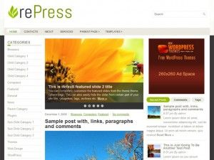 template, tema, wordpress, wp, 3 colunas