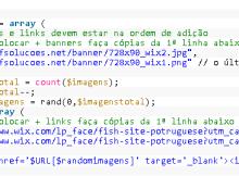 codigo para banner rotativo em php
