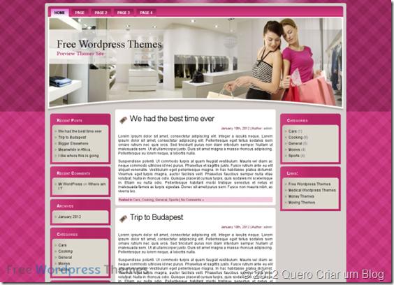 tema wordpress para blog feminino