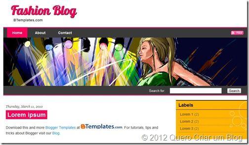 template blogger feminino2
