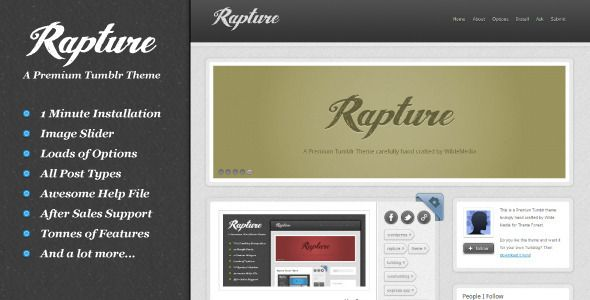 Template Rapture
