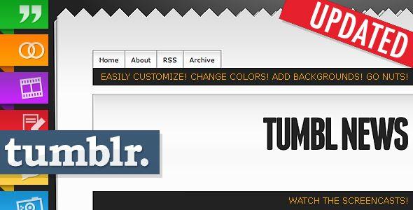 Template Tumbl News