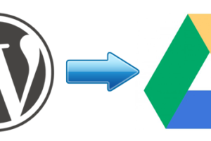 wordpress, google drive, backup