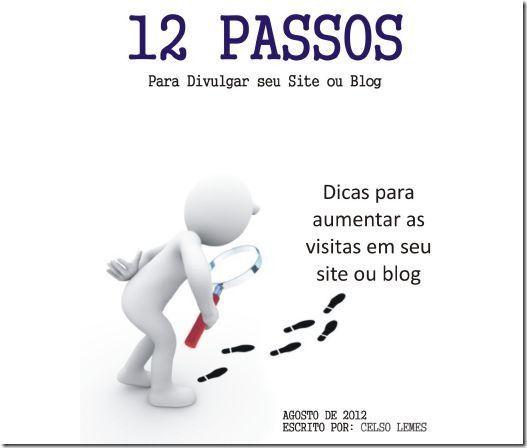 ebook gratuito 12 passos para divulgar seu blog