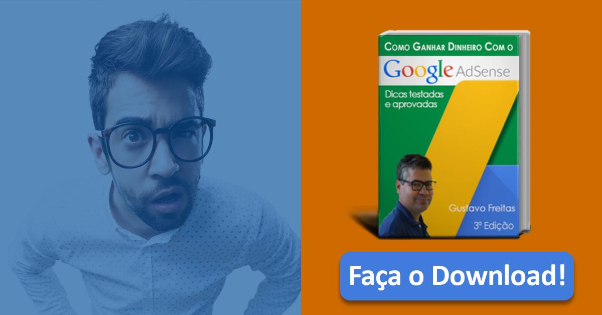 E-book Google Adsense atualizado para 3ª edição