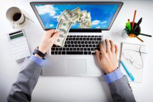 Dinheiro internet
