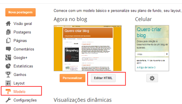 Google Adsense no Blogspot