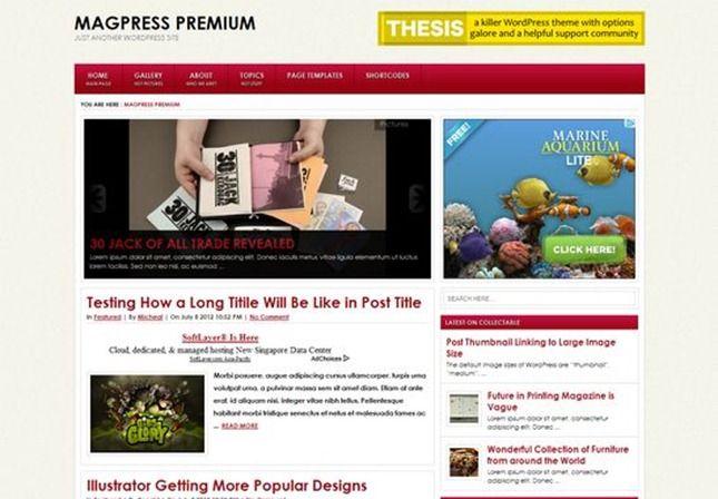 xure wordpress tema gratuito
