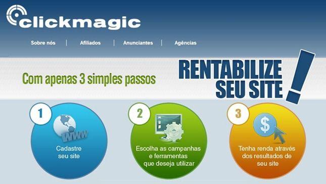 ganhar dinheiro com blog clickmagic
