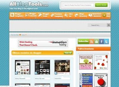 template wordpress blogger
