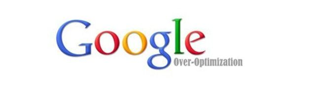 google over optimization