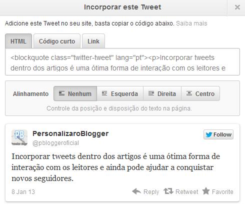 incorporar tweet2