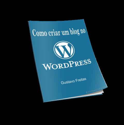como criar um blog no wordpress