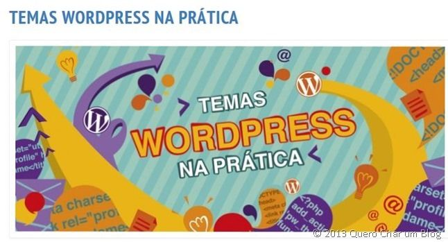 criar temas wordpress curso