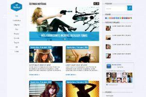 Rocket Blogger template