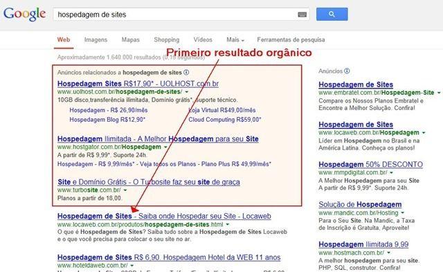 onde estão as visitas do google