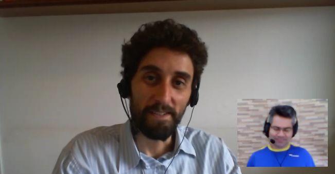 Gustavo Freitas entrevista Marcos Rezende