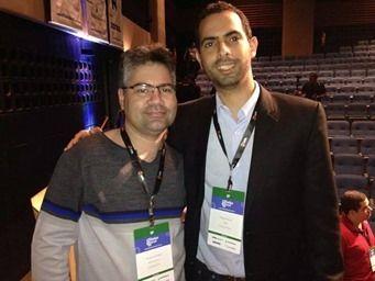 Gustavo Freitas e Felipe Pereira no Afiliados Brasil 2014