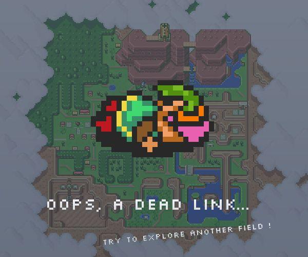 páginas 404 criativas