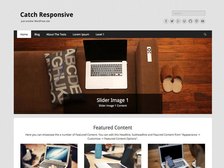 +1000 templates responsivos wordpress catch responsive