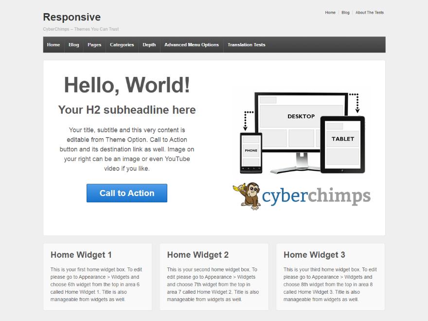 +1000 templates responsivos wordpress responsive